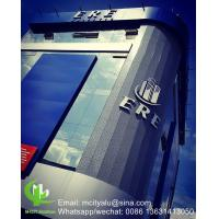 Cheap Metal aluminum solid panel cladding panel for facade curtain wall  with 3mm thickness aluminum panel for sale