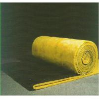 Sound Absorption Glass Wool Blanket / Felt Roll Faced With Black Glass Tissue
