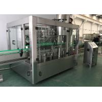 Cheap CO2 Carbonated Sparking Water Bottle Filling Equipment , Juice Filling Machine for sale