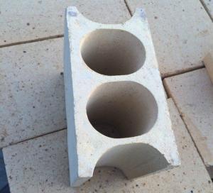 Light Mullite Insulation Kiln Fire Bricks , High Temperature Fire Retardant Bricks