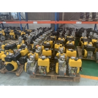 Cheap 420×440×495mm EPA 24Ah Air Cooled Single Cylinder Diesel Engine for sale
