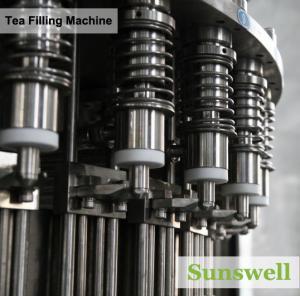 Cheap PET Bottle Tea Filling Machine , Automatic Black Tea Filling Equipment for sale