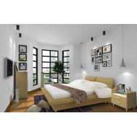 Quality Cheap Apartment Furniture Space Saving New Residence Bedroom Fabric Upholstered wholesale