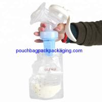 Cheap Breast milk storage bags Direct pump breast milk bag together for sale