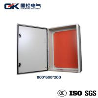 Buy cheap Indoor Painted carbon steel RAL 7035 light gray solar module distribution box from wholesalers