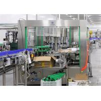 Cheap Glass PET Bottle Labeling Machine , High Speed Beverage Packaging Equipment for sale