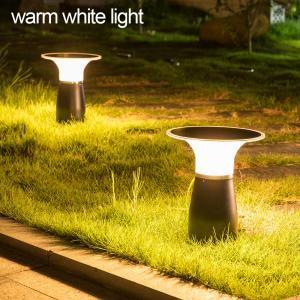 Cheap IP55 Solar Powered Bollard Lights Commercial / Outdoor Solar Floor Lamp Courtyard for sale
