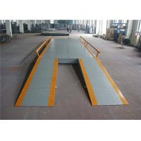 Cheap Concrete 80 Ton Electronic Lorry Weighbridge 220 - 300mm Channel Beam for sale