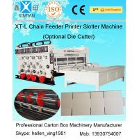 Automated Corrugated Paper Carton Making Machine , High Precision