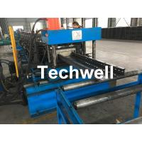 GCr Quench Treatment Roller Cable Tray Roll Forming Machine With Punching Press Machine Manufactures
