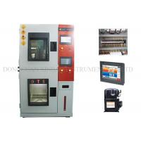Cheap Heat / Cold Humidity Climatic Test Chamber Double Layers Insulated Airtight Doors for sale