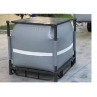 Cheap Grey Recycled PVC Liquid Jumbo Bag Stainless Steel Pallet Available 1 Ton / 1000L for sale