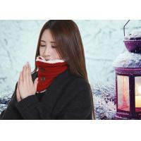 DC5V Battery Operated Heated Scarf With Power Bank Button Design Removable