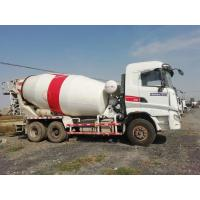 Cheap SANY Used Concrete Mixer Trailer , Used Portable Cement Mixer 6*4 Drive Mode for sale