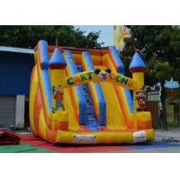 Cheap Fireproof Inflatable Bouncy Castle And Slide Customized For Little Kids Playing for sale