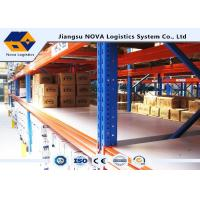 Cheap Customized Adjustable Pallet Warehouse Racking System For High Capacity Storage for sale