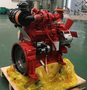 2800RPM 4BT 3.9L 4 Cylinder Cummins Engine , Small Industrial Diesel Engines