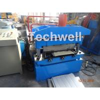 Iron Sheet Metal Roof Cold Roll Forming Machine With Manual Uncoiler Machine Manufactures