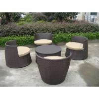 ... Chair With Round Tea / Coffee Table for sale of outdoorrattanfurniture