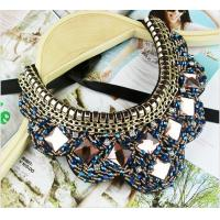 Cheap TP-N1 Jewelry Rhinestone Bead statement necklace Jewelry Necklace for Costume for sale