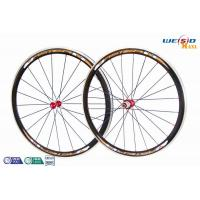 Road Bike 700c 38mm Aluminum Bicycle Wheels AA6063 T5 Customized Size 12