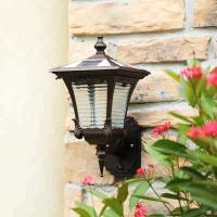 Buy cheap Motion Sensor Solar Powered Outdoor Wall Lights , Solar Outdoor Wall Lantern from wholesalers