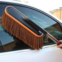 Cotton Wax Car Wash Wax Brush for Cleaning the Car Duster Brush