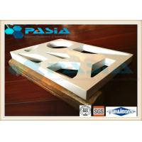 Cheap Various Shapes Aluminium Honeycomb Ceiling Panels PVDF Fluorocarbon Powder Coated for sale