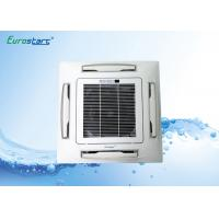 2.7KW CE Certified Chilled Water Cassette Fan Coil Unit False Ceiling Installation