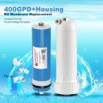 Cheap 400GPD Umkehrosmose Wasser Filter Ersatz + Gehäuse RO Membran Universal HOT for sale