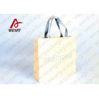 Cheap Cotton Rope LOGO Printable Promotional Paper Bags Small Size OEM for sale