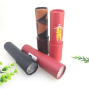 Cheap CMYK Color Cardboard Cylinder Packaging / Custom Paper Crystal Ball Kaleidoscope Kids Tube for sale