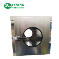Stainless Steel Ordinary Cleanroom Pass Box / Transfer Box 0.2m-0.60m/S Average Speed
