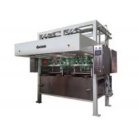 Cheap PLC Controlled Automatic Pulp Molding Machine For Recyclable Industrial Package for sale