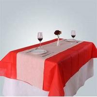 Cheap Table Cloth Non Woven Polypropylene Fabric Wearproof Colorful For Home Furnishing for sale