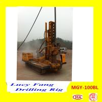 Cheap China Multi-function MGY-100BL Crawler Hydraulic DTH Hammer Micropile Hole Drilling Rig for sale