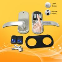 China Easy Operated Electronic Keypad Door Lock With Fingerprint / Password Open on sale