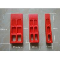 Cheap Custom Red Printer Tools  Paper Wedge For Printing Machine for sale