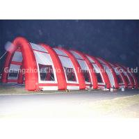 Cheap Outdoor 40x20m Red Archway Inflatable Sport Air Tent with CE Blowers for sale