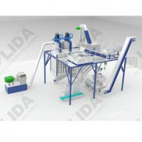 China 1.5t/h wood pellet production line from Yantai Lida sawdust prooof ,high automatic ,labor and space saving on sale