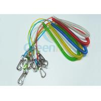 Buy cheap Fashion PU Coated Fishing Rod Lanyard Colored Stainless Steel Extended 3M from wholesalers
