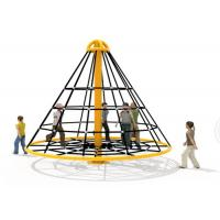 Cheap Soft Safe Reusable Rope Climbing Structure For Residential Area KP-PW024 for sale