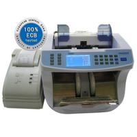 Cheap English Pound Multi Currencies Banknote Counter Value / Note Counting Machines for sale