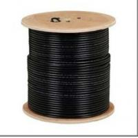 Quality Non-Plenum RG11 with Steel Messenger Coaxial Cable 60% and 40% Aluminum Braiding wholesale