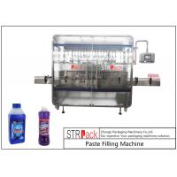 Cheap Linear 1-5L Cleaner Filling And Packaging Machine With Diving Filling Nozzle for sale