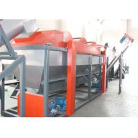 Cheap Customized BOPP Plastic Washing Line PLC Program Control With Pipe Drying System for sale
