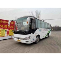Cheap Left Steering Single Doors Airbag Chassis Luxury VIP Seats Used Passenger Bus Used Yutong Bus Brand ZK6908 38 Seats for sale