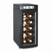Cheap Wine Cooler with 26L Volume, 70W Input Power and 110/220V Rated Voltage for sale