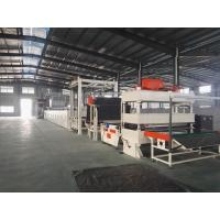 Cheap Asphalt Carpet Tile Production Line , CNC Cutting Machine Frequency Control for sale