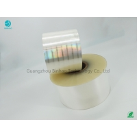 Cheap No Bubble Packing Film For King Size Cigarette BOPP Film 120mm for sale